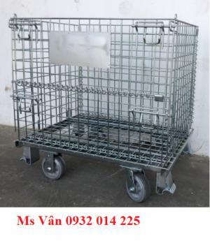 Cơ khí - Máy móc Thiết bị sản xuất Lồng sắt có bánh xe