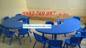 bàn ghế mầm non giá rẻ