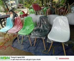 Lô ghế nhựa mới sản xuất,giá rẻ giao nhanh