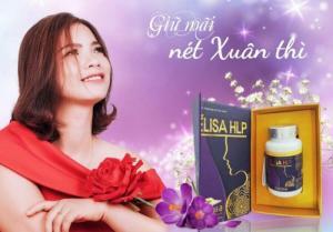 Viên uống nội tiết tố nữ Elisa HLP Nhật Bản