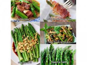 Măng tây siêu dinh dưỡng