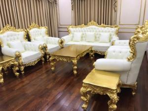 Mua Sofa cổ điển luxury cao cấp hoàng gia cho vila ở đâu uy tín
