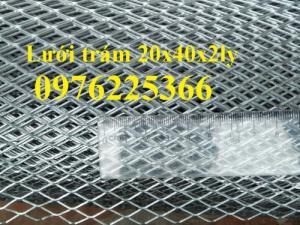 Lưới dập giãn,lưới hình thoi,lưới hình quả trám ô 10*20,15*30,20*40,30*60,45*90