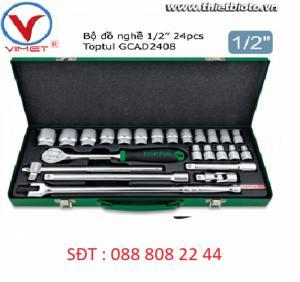 Bộ đồ nghề xách tay 1/2 24 chi tiết Toptul GCAD2408