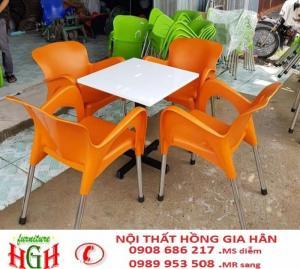 ghế nhựa cafe cần  thanh lý n4