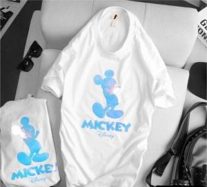 Án thun trắng hình Mickey