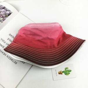 Nón bucket chuyển màu cá tính Mã: CK0603 - ĐỎ