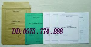 Hồ sơ cán bộ Viên chức (Mẫu HS09a-VC/BNV - B01/BNV - B02/BNV - B03/BNV - B04/BNV - B05/BNV)
