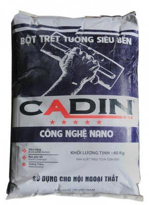 Bột trét nội ngoại thất Cadin bịch 40kg