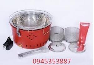 Bếp nướng than hoa không khói BBQ Home BN-01 có chế độ tự động sạc