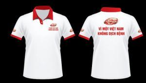 Xưởng may áo phông/ áo thun in/thêu logo quảng cáo làm quà tặng cho doanh nghiệp