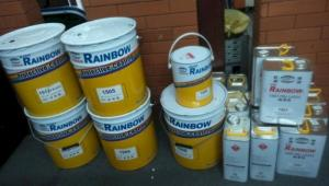 Chuyên cung cấp sơn chịu nhiệt Rainbow 600 độ màu bạc