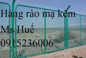 Hàng rào mạ kẽm bẽ tam giác hai đầu, lưới thép hàng rào mạ kẽm, lưới thép hàng rào sơn tỉnh điện