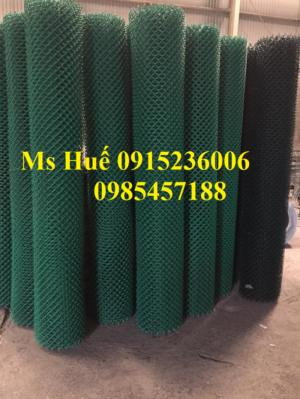 Hàng rào công nghiệp bọc nhựa PVC, Lưới thép hàn chập hàng rào bọc nhựa, lưới thép sơn tĩnh điện