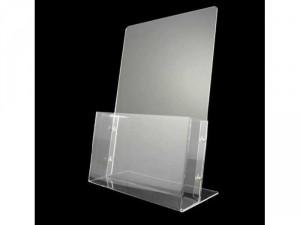 Kệ trưng bày mica iPad brochure giá 65k