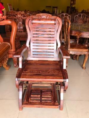 Ghế thư giãn massage gỗ cẩm lai giá siêu rẻ