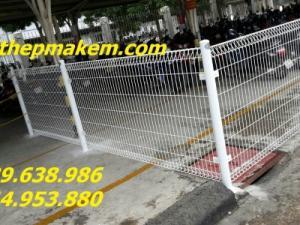 Hàng rào lưới thép, hàng rào mạ kẽm, sơn tĩnh điện hàng rào di động