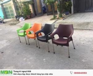 Ghế nhựa đẹp được khách hàng lựa chịn nhìu
