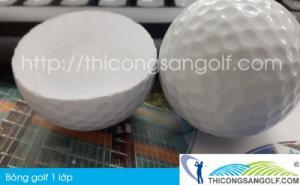Bóng golf 1 lớp, 2 lớp, 3 lớp, bóng golf nổi giá rẻ