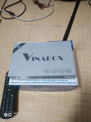 Vinabox X6 Ram 2GB - Điều Khiển Bằng Giọng Nói, Chíp Lõi Tứ Model 2019
