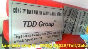 Biển Công ty làm theo yêu cầu tại Hà Nội