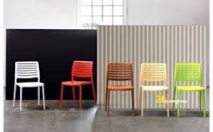 Ghế nhựa cafe Line giá tại xưởng