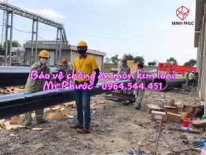 Bitum bảo vệ đường ống pccc chôn ngầm