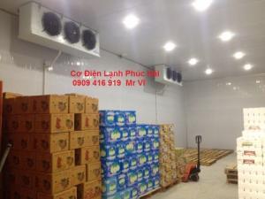 Chuyên lắp đặt kho lạnh bảo quản nông sản