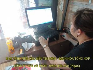 Bộ máy tính tiền cho siêu thị - Mini mart Tại Đà Nẵng