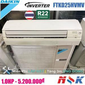 Máy lạnh Daikin Inverter FTKD25HVMV 1HP