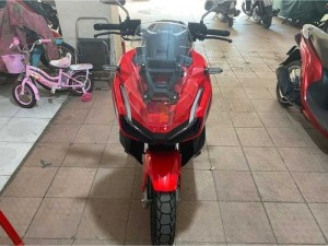 Honda ADV 150 ABS đỏ như xe thùng biển số 9.97.97
