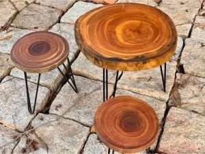 ghế góc cây cho quán cà phê