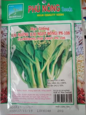 Hạt giống cải ngồng (cải ngọt ăn bông)