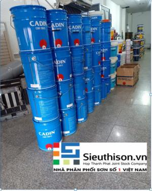 Đại lý cung cấp Sơn Chống Rỉ Cadin A101 Màu Xám 17.5 Lít giá rẻ