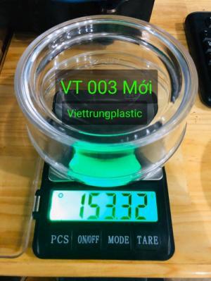 Hộp nhựa đựng hạt điều - VT 003
