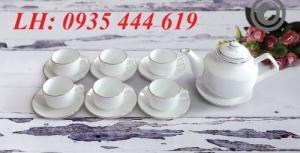 Ấm trà in logo theo yêu cầu, ấm trà quà tặng tại Huế