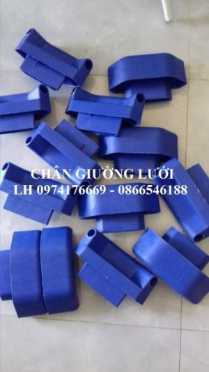 Chân nhựa gường lưới - Chân giường lưới