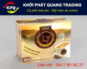 Cà phê hòa tan L7 3in1
