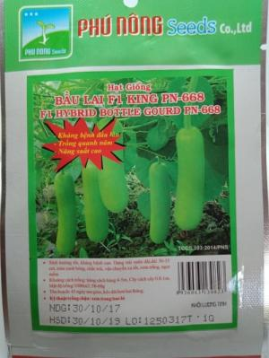Hạt giống bầu lai King Phú Nông