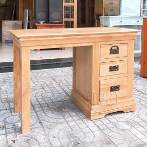 Bàn làm việc 3 ngăn kéo gỗ sồi mỹ CMR HT03