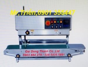 Máy hàn miệng bao in date liên tục FRL-1000WL giá rẻ Long An