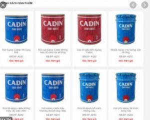 Cần bán sơn epoxy Cadin chất lượng giá tốt cho nền nhà xưởng