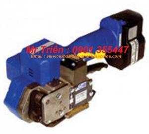 Máy niềng dây đai pet xuất sứ đài loan dùng pin P-323 giá rẻ TP HCM