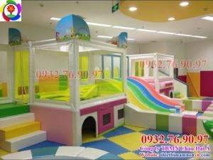 Nơi bán liên hoàn cầu trượt cho trẻ