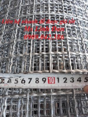 lưới thép đan mạ kẽm, lưới thép đan, lưới thép đan mạ kẽm lượn sóng