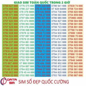 Sim tam hoa 666 trả trước mobifone đồng giá 3,5 triệu