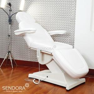 Giường ghế thẩm mỹ chỉnh điện B040 – Màu trắng