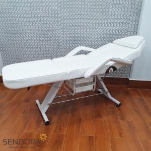 Giường phun xăm, ghế tiêm Filler YH-82006 – Màu trắng