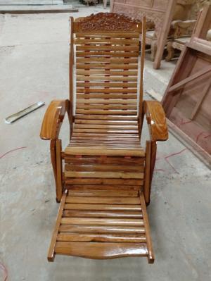 Ghế nằm thư giãn gỗ tự nhiên