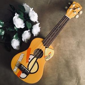 Đàn Ukulele Angry Bird vàng | Size soprano 21' Chính hãng.